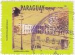 Stamps Paraguay -  Palacio de Los López