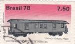 Stamps Brazil -  Vagón ambulante