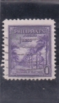 Stamps : Asia : Philippines :  paseo de palmeras
