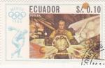 Sellos de America - Ecuador -  Olimpiada de México-68