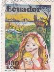 Stamps Ecuador -  Navidad-93