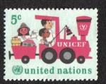 Sellos de America - ONU -  20 años de Unicef, New York