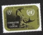 Sellos de America - ONU -  lucha contra el Cancer, New York