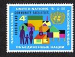 Sellos del Mundo : America : ONU : Instalaciones de Vivienda y la Comunidad, New York