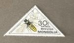Sellos de Asia - Mongolia -  Avispa