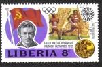 Sellos del Mundo : Africa : Liberia : Juegos Olímpicos