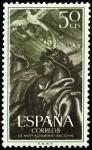 Stamps Spain -  ESPAÑA SEGUNDO CENTENARIO NUEVO Nº 1188 ** 50C PURPURA ALZAMIENTO
