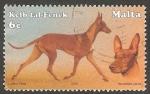 Sellos de Europa - Malta -  1169 - Perro de raza