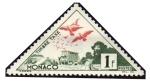 Stamps : Europe : Monaco :  39 B - Palomas mensajeras