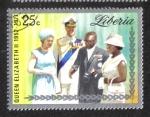 Sellos del Mundo : Africa : Liberia : Bodas de Plata