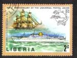 Stamps Liberia -  100 años la Unión Postal Universal (UPU )
