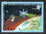 Sellos del Mundo : Africa : Liberia : 100 años la Unión Postal Universal (UPU )