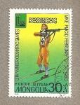Stamps Mongolia -  Juegos olimpicos de invierno