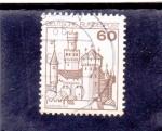 Stamps Germany -  castillo de Marksburg