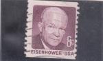 Sellos de America - Estados Unidos -  presidente Eisenhower