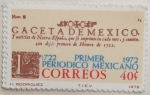 Stamps of the world : Mexico :  primer periodico mexicano