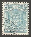 Stamps : Africa : South_Africa :  60 - Escudo de armas