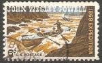 Sellos de America - Estados Unidos -  877 - Centº de la expedición John Wesley Powell, descenso por el río Colorado