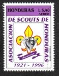 Stamps Honduras -  75 Aniversario Scouts de Honduras