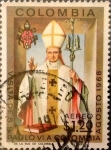 Stamps : America : Colombia :  489 - Pablo VI