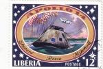 Sellos de Africa - Liberia -  aeronautica- Apolo 14