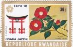 Stamps Rwanda -  Expo-70 Osaka