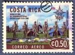 Sellos del Mundo : America : Costa_Rica : Cincuentenario del Movimiento Scout en Costa Rica 1916-1966