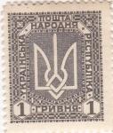 Sellos de Europa - Ucrania -  simbolo