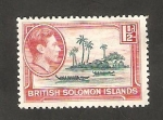 Stamps Oceania - Solomon Islands -  60 - Isla Auki