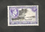 Stamps Oceania - Solomon Islands -  63 - Paisaje