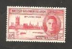 Stamps Oceania - Solomon Islands -  71 - Anivº de la Victoria