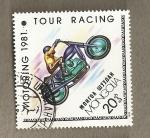 Stamps Mongolia -  Motocicleta