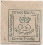 Stamps Spain -  Y & T Nº 129 q 1