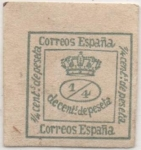 Sellos de Europa - España -  Y & T Nº 129 q 1