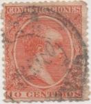 Stamps Spain -  Y & T Nº 201