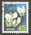Stamps Japan -  840 B - Flores
