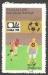 Stamps United Kingdom -  Mundial de Fútbol, Alemania 74