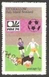 Stamps : Europe : United_Kingdom :  Mundial de Fútbol, Alemania 74