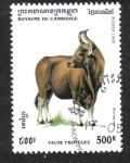 Stamps Cambodia -  Vida Silvestre protegida