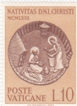 Sellos de Europa - Vaticano -  Natividad cristiana