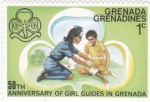 Stamps Grenada -  50 aniversario ayuda en Grenada