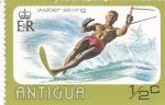 Sellos de America - Antigua y Barbuda -  esquí acuatico