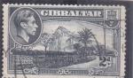Stamps Gibraltar -  peñón de Gibraltar