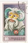 Stamps Hungary -  máscara