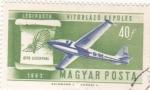 Sellos de Europa - Hungría -  avión