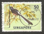 Stamps Singapore -  61 - Pájaro