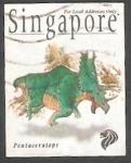 Sellos de Asia - Singapur -  846 - Fauna prehistórica