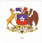 Sellos de America - Chile -  escudo-CHILE   -sin valor postal