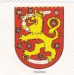 Stamps Finland -  escudo-FINLANDIA   -sin valor postal