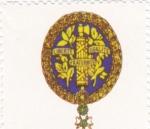 Sellos de Europa - Francia -  escudo-FRANCIA   -sin valor postal